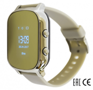 Смарт часы Tiroki T58 серебряные для девочки