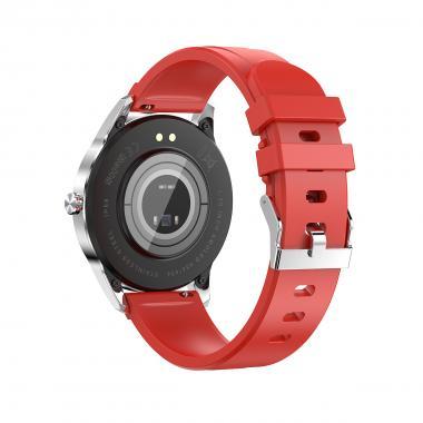 Часы King Wear LA10 красные для мужчин