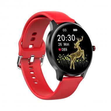 Часы King Wear LW29 красные для мужчин