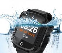 Часы Tiroki D200s черные с датчиком измерения давления