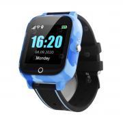 Часы  с градусником Tiroki FA27T синие
