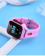 Часы  с видеозвонком Tiroki FA28 розовые