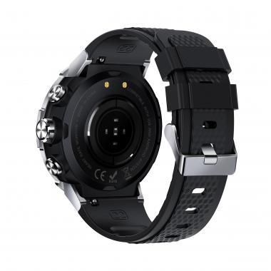 Часы Lemfo K28H серебряные для мужчин