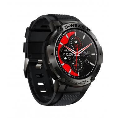 Часы Lemfo K28H черные для мужчин