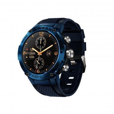 Часы Lemfo K28H голубые для мужчин