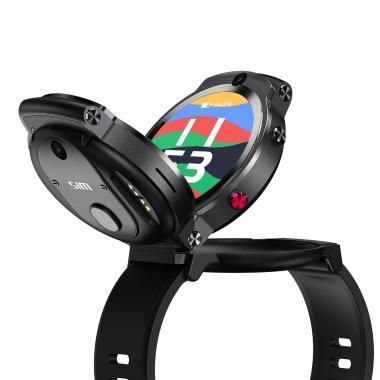 Часы LEMFO LEM13 черные для мужчин