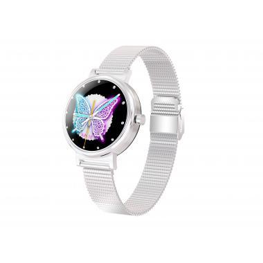 Часы King Wear LW06 серебряные