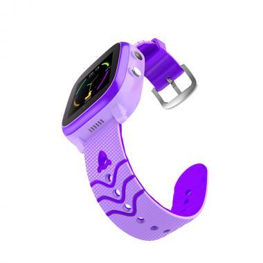Часы  с видеозвонком Tiroki Q600 Фиолетовый