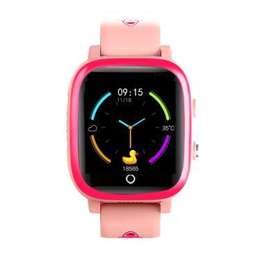 Часы  с видеозвонком Tiroki Q600 Розовый