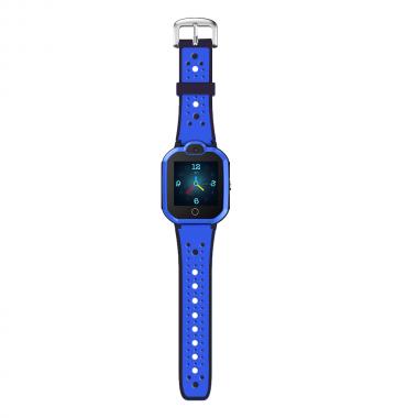 Cмарт часы для детей Tiroki Q900 с видеозвонком и телефоном для мальчика 5-11 лет синие