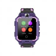 Часы  с градусником Tiroki T10S фиолетовые