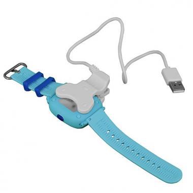 Магнитная USB зарядка кабель-прищепка для детских часов